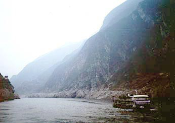 View of the Three Gorges
